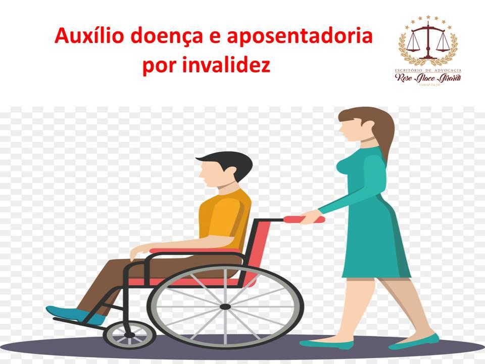foto auxilio doença e aposentadoria por invalidez